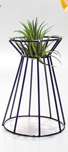 Soporte de Planta de Flor Irregular Maceta de Soporte de Maceta Geométrica Soportes de Estante de Plantas de Aire Colgantes de Metal Soporte de Exhibición Estante de Estante