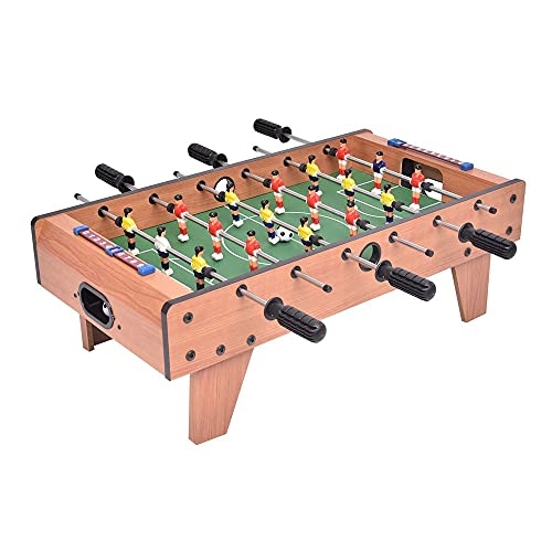 XXCC Fußball Tischplatte Kinder Familie Indoor Soccer Foosball Spiel Spiel Spielzeug Geschenk Set Holzrahmen, 70 × 37 × 24 cm Kombination Spieltisch, Kreatives Puzzlespiel Für Kinder