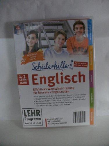 Schülerhilfe! ~ Englisch ~ Klasse 1.- 2. ~ Die interaktive Lernsoftware für bessere Zeugnisnoten! ~ Abgestimmt auf die Lehrpläne aller Bundesländer
