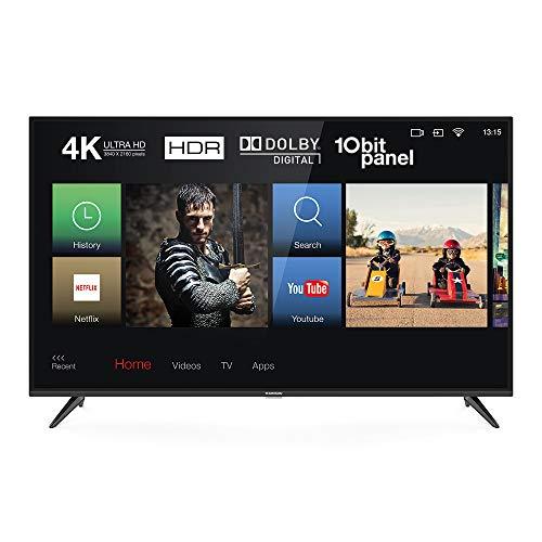 Thomson 50UD6326 Fernseher 126 cm (50 Zoll) Smart TV (4K UHD, HDR, Dolby Digital Plus, T-Cast, Triple Tuner) Schwarz