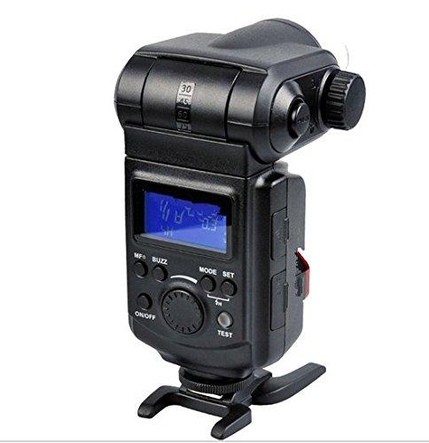 Gowe Leistungsstark tragbar 180W externer Blitz Speedlite für DSLR Canon Nikon Pentax Olympas
