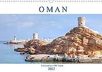 Oman - Ein Land aus 1001 Nacht (Wandkalender 2022 DIN A3 quer): Ein Land wie aus einem arabischen Maerchen mit Palaesten, Sultan, surreal geformten Bergen und Wuesten. (Monatskalender, 14 Seiten )