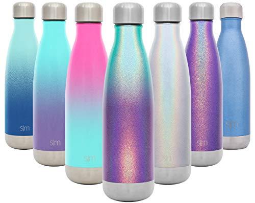 Simple Modern Wave Wasserflasche 17oz Wave Schimmer: Aurora
