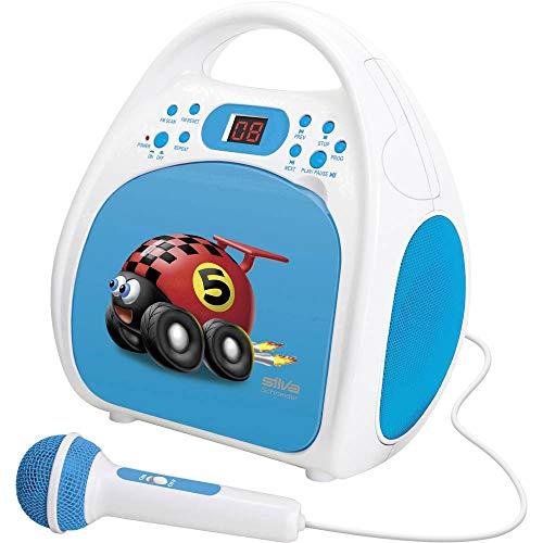SILVA-Schneider Junior One blau Kinder Stereo Radio Lautsprecher LCD blau