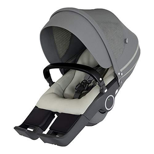 STOKKE® Xplory® 6 Kinderwagen-Sitz - Sitzschalen-Aufsatz für Fahrgestell Xplory - Farbe: Athleisure Green