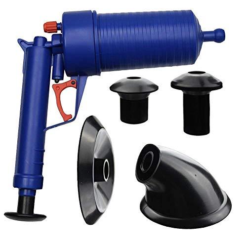 LjzlSxMF Luftdruck ablassen Pumpe Rohr Dredge Werkzeuge, Toilet Plunger, Hochdruck Leistungsstarke manueller Sink Plunger-Öffner-Reiniger Pumpe für Bad Toiletten, Badezimmer, Dusche, Küche