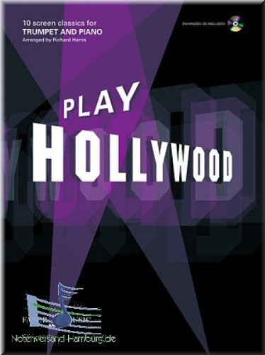 PLAY HOLLYWOOD - trompet noten [muziek]