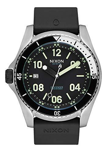 NIXON Reloj Analógico para Hombre de Cuarzo con Correa en Caucho A9602474