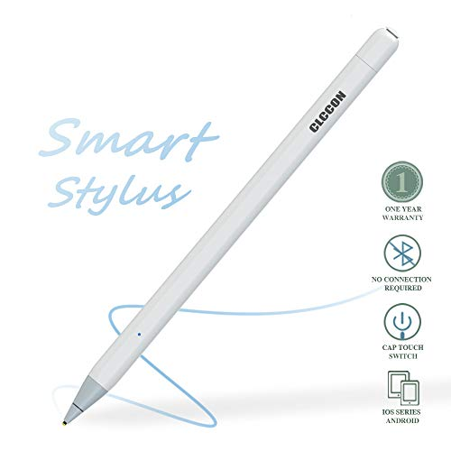 Stylus Pen for Apple iPad & iPhone,CLCCON Stylus Capacitive Rechargeable Pen for iPad Air2,3 iPad Mini 2,3,4,5 iPad 3 iPad 2018,2019 iPad Pro1,Pro 2 and Later iPhone 6,7,8 and etc