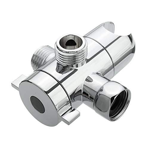 LXH-SH Das elektromagnetische Ventil 3-Wege-Duschkopf Umschaltventil T-Anschluss Dusche Adapter Einstellbare Dusche Arm montiert Duschkopf Halter for WC Bidet Industriebedarf (Color : A1)
