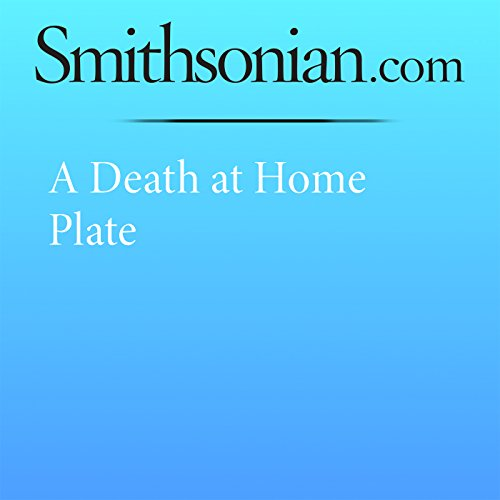 A Death at Home Plate audiobook cover art
