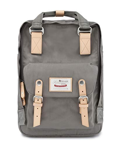Himawari Backpack Laptop Backpack College Backpack School Bag 14.9' Travel Backpack for Women,Fits 13-inch Laptop(Gray)