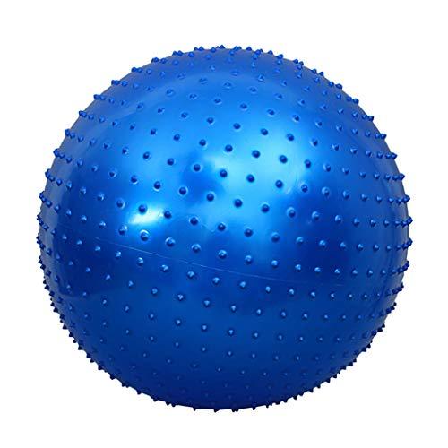 Lingling 75-cm-Gymnastikbälle Beinhaltet Luftpumpe, das Sinnes-Training für Kinder, Yoga/Pilates und den Fitnessball-Massageball für den allgemeinen Kraftausgleichsball