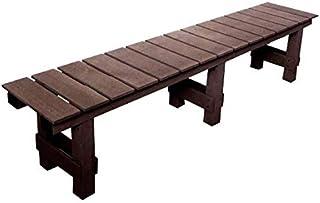 人工木 濡れ縁台 1800(ブラウン)aks-54633 JJ PROHOME 縁台 腐りにくい 店頭 ベンチ 腰掛け