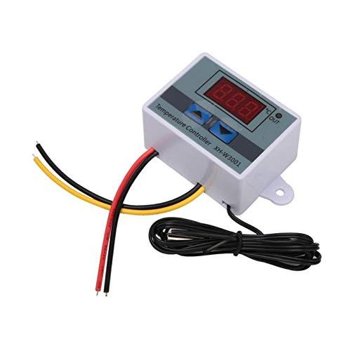 Termostato programable Controlador de temperatura Termostato de salida Modo de enfriamiento a prueba de agua Termostato inteligente Equipo de incubación Estuche para(24V/240W)