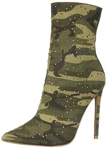 Steve Madden Damen WAGU modischer Stiefel, Camouflage, 36 EU