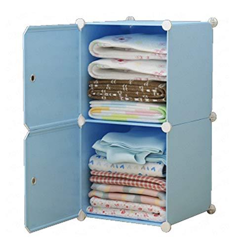 TWDYC Extra Large Aufbewahrungsbox Box Kunststoff Haushalt Folding Fach-Art Kinder-Kleidung-Speicher-Lagerschrank
