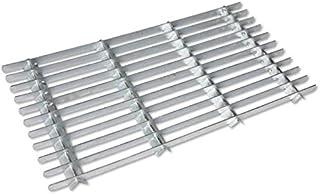 CKB Ltd® Metal Parrilla Acero galvanizado Felpudo al Aire Libre jardín Entrada Puerta Delantera Heavy Duty raspador Alfombrillas–pequeño
