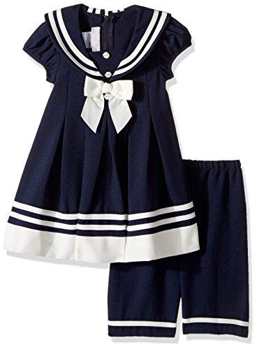 Bonnie Jean Matrosen Kleid in dunkelblau/Ivory inkl. kurzer Hose Größe 56