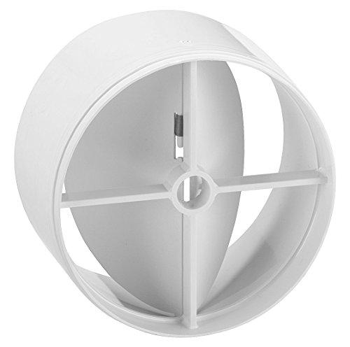 Upmann Grille Upmann Clapet anti-retour DN 100, blanc, 1 pièce, 66278