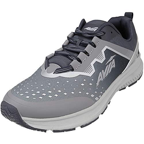 Avia Men's Avi-Maze Sneaker, Filigree/Nine Iron/Metallic Silver, 10.5 Wide US