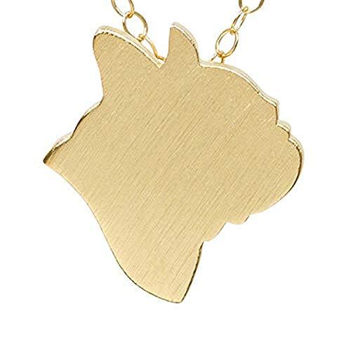 Collana Gioielli Di Moda Animale Bulldog Francese Collana Girocollo Cane Da Compagnia Frenchie Pendente Con Ciondolo Collane Lunghe Per Gli Amanti Degli Animali Domestici