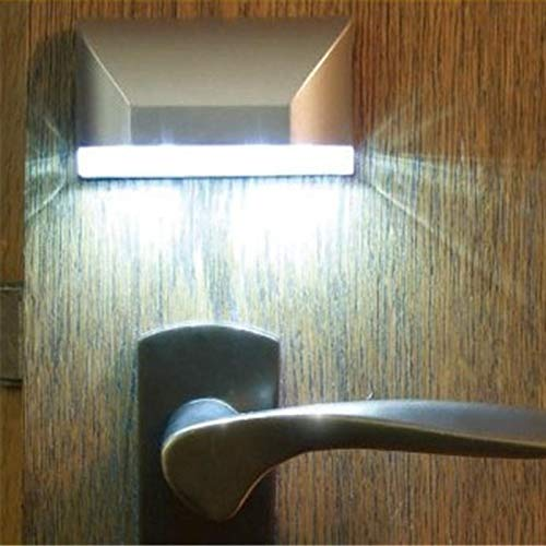 Shichangda Lámpara LED Inteligente con luz de de Cerradura Lámpara de Sensor...