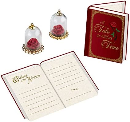 Beauty and the beast guest book