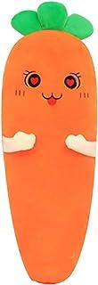 Lo almohada de peluche de zanahoria rellenos de verduras sToys almohada larga para dormir en casa dormitorio