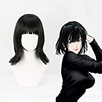 Anime ONE PUNCHMANコスプレウィッグフブキコスプレウィッグ耐熱合成ウィッグヘアハロウィンカーニバルパーティー地獄のフブキ