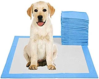 50pcs Pet Pee Pads Dog Potty Pads Disposable Absorbent Quick Drying Leak-Proof Pads for Potty Training 45x60cm M