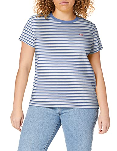 Levi's tee Camiseta, Silphium Colony Blue, S para Mujer