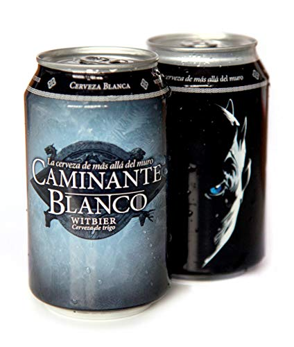 Lata de Cerveza Caminante Blanco 33 cl
