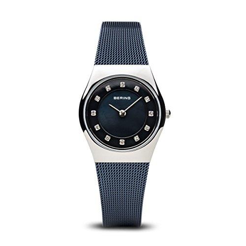 BERING Damen-Armbanduhr Analog Quarz Edelstahl 11927-307