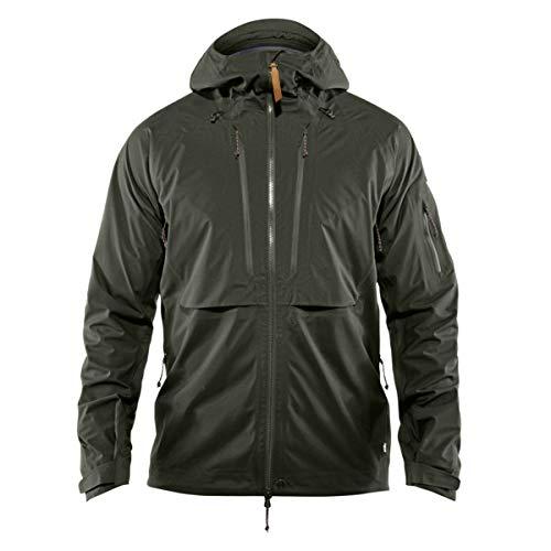 FJALLRAVEN Keb Eco-Shell Jacket M Veste Homme, Vert (Deep Forest), S