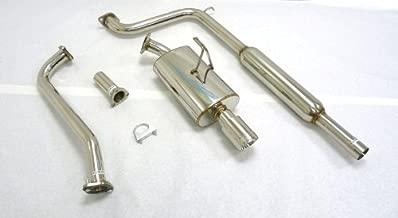 OBX Performance Catback Exhaust System 97-03 Saturn SL2 1.9L 2/4DR SOHC/DOHC ALL