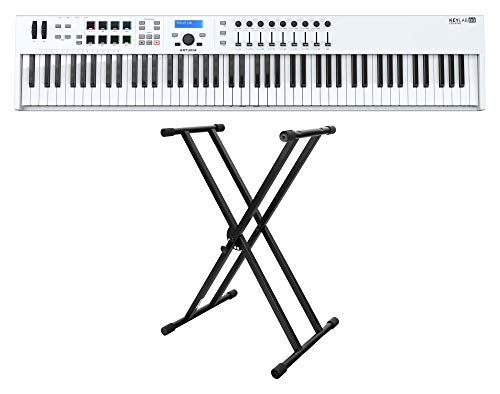 Arturia KeyLab Essential 88 MIDI-Keyboard Set inkl. X-Keyboardständer