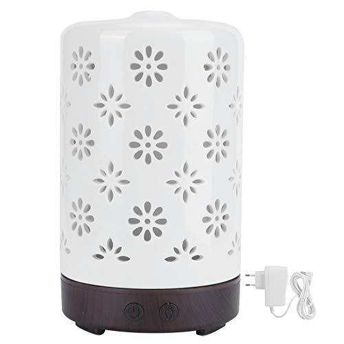 Caiqinlen Humidificador de Aroma, humidificador ultrasónico EU 100-240V 100ml Difusor de Aroma de Apagado automático, para Sala de Yoga en casa, Oficina, Dormitorio