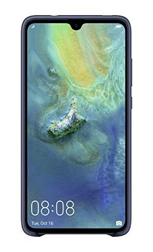 Huawei 51992617 Silicone Car Case, passend für Mate 20, Blue