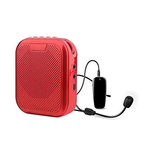 HUBI Amplificador de Voz, Amplificador de Voz para Maestros Profesor montado en la Cintura Conferencia Docente Megáfono de Alta Potencia, para Maestros, Guías turísticos