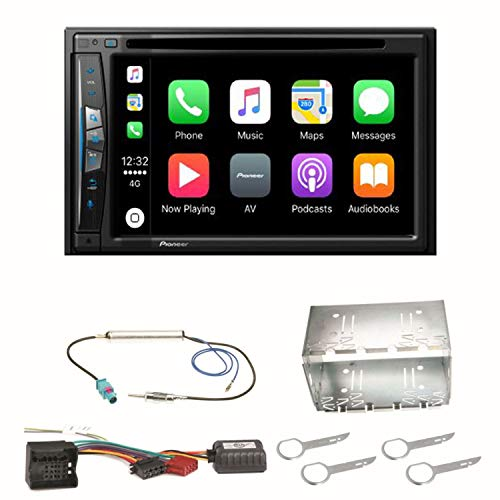Pioneer AVIC-Z610BT - Sistema de navegación para Coche (USB, CD, DVD, Bluetooth, MP3, WMA)