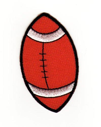 Aufnäher Bügelbild Aufbügler Iron on Patches Applikation American Football Ball Sport
