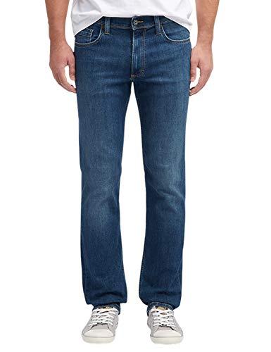 Mustang Herren Slim Fit Washington Jeans, 38W / 32L, Dunkelblau