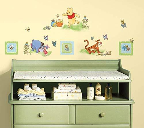 Disney Sticker mural Winnie l'ourson 45 x 40 cm