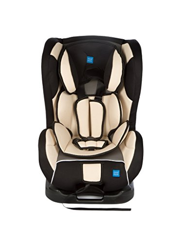 Mee Mee Baby Car Seat Cum Carry Cot with Thick Cushioned Seat (Black Grey)