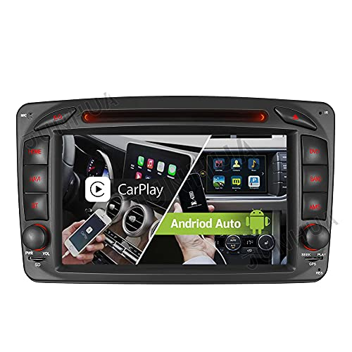 Android 10 Carplay+Android Auto 2G+32GB Rohm-DSP Bluetooth 5.0 Dual-Tuner Autoradio 7