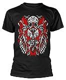 Plastic Head Halestorm 'Feather Skull' T-Shirt (Medium) Black