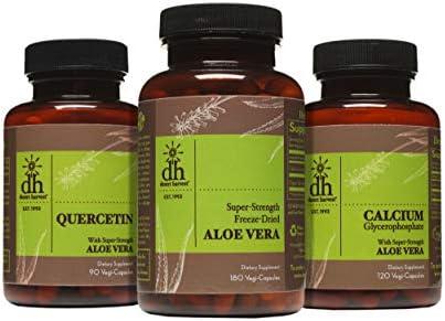 Desert Harvest Interstitial Cystitis Starter Kit Super Strength Aloe Vera Capsules Calcium Glycerophosphate product image