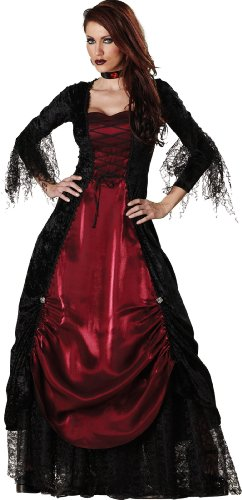 Unbekannt InCharacter Costumes Damen Gothic Vampirin Kostüm - Mehrfarbig - X-Large