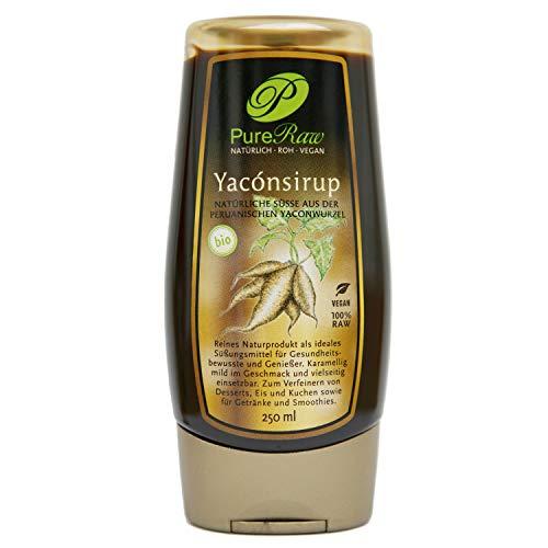 Yacón Sirup 250 ml (Bio & Roh)